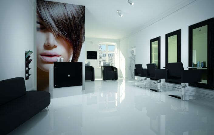 salon interior design