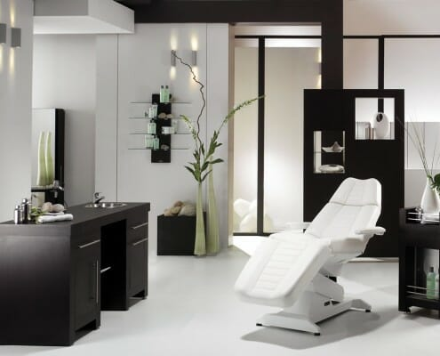 Salon barbers beauty salons interior design salon for Interieur design salon