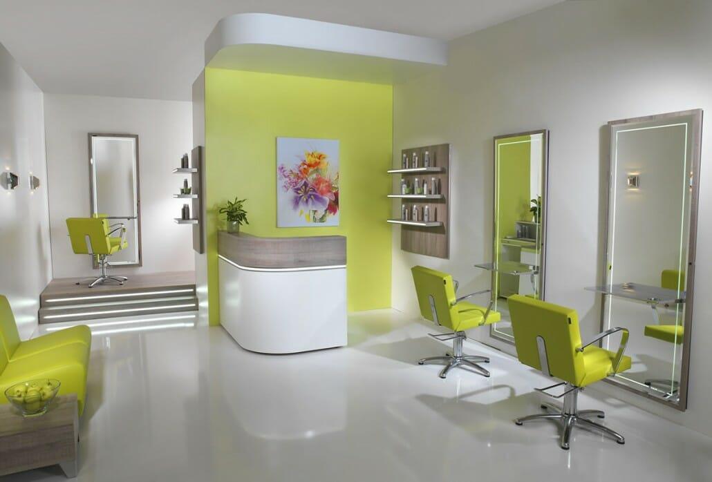 Salon barbers beauty salons interior design salon - Interior hair salon lighting ideas ...