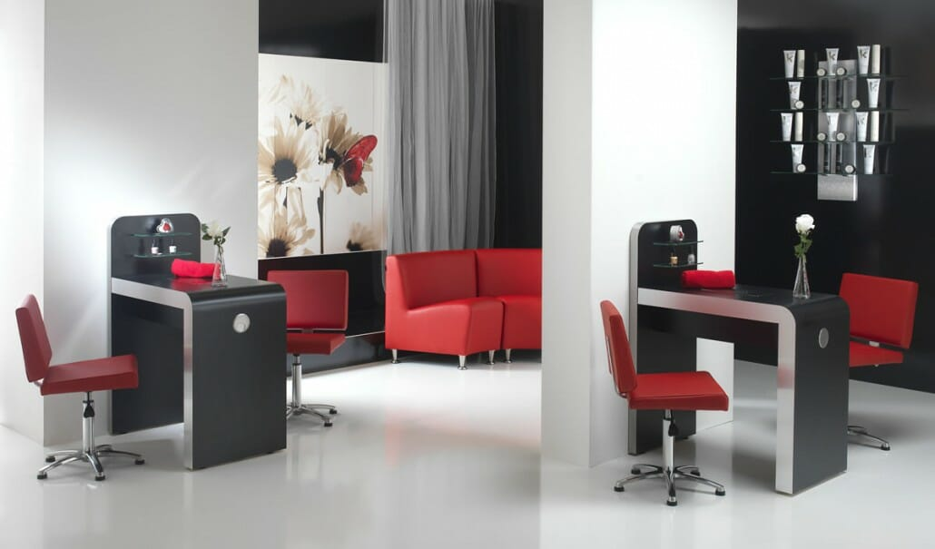 Salon barbers beauty salons interior design salon for Design x salon furniture