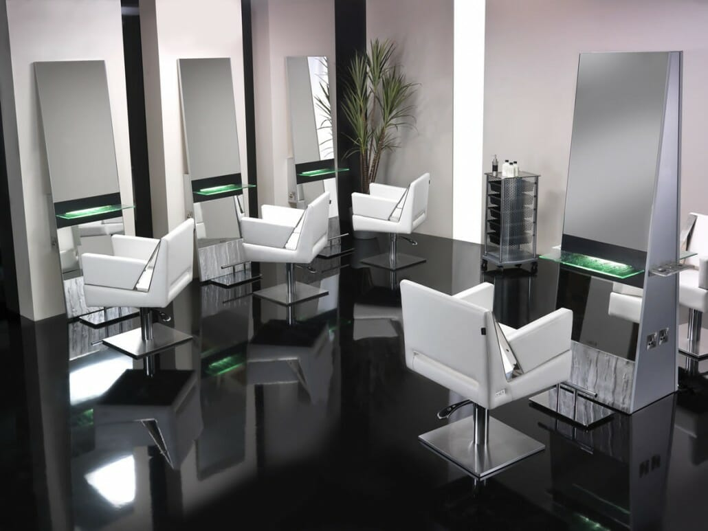 Portfolio Salon Interior Design