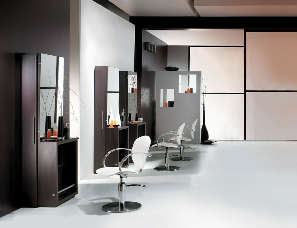 Salon barbers beauty salons interior design salon for Salon interior design
