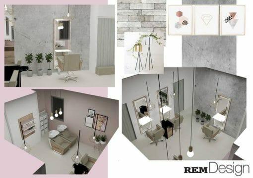 Salon Interior Concept